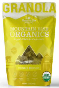 Monkey business Bag organic nut free granola banana granola